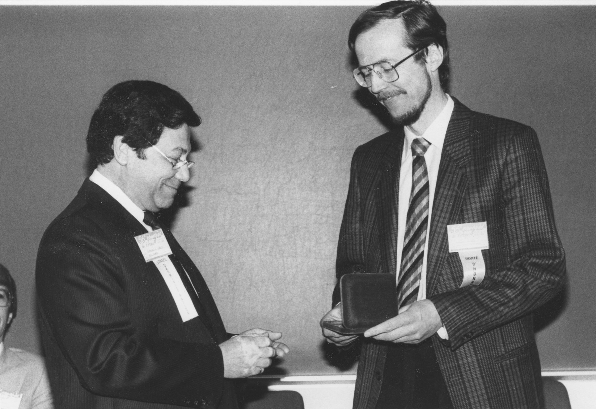 1988 - prix ACFAS, Moncton  - photo with R. Charles Terreault.jpg 5.4K